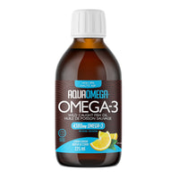 Aquaomega Omega 3 High EPA Lemon Liquid