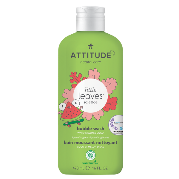 Attitude Little Leaves Watermelon & Coco Bubble Bath 473 ml