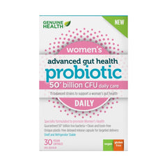Genuine Health Advanced Gut Health Women's Daily Probiotic 30 capsules