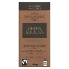 Green & Blacks Organic Almond Chocolate Bar