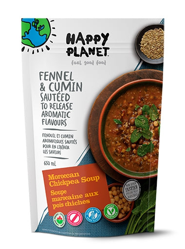 Happy Planet Moroccan Chickpea Soup