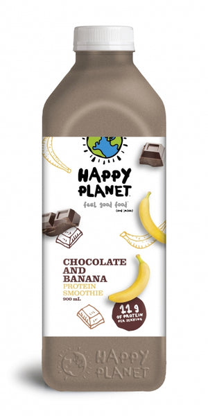Happy Planet Banana Chocolate Protein Smoothie