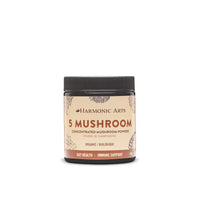 Harmonic Arts Organic 5 Mushroom Concentrated Mushroom Powder