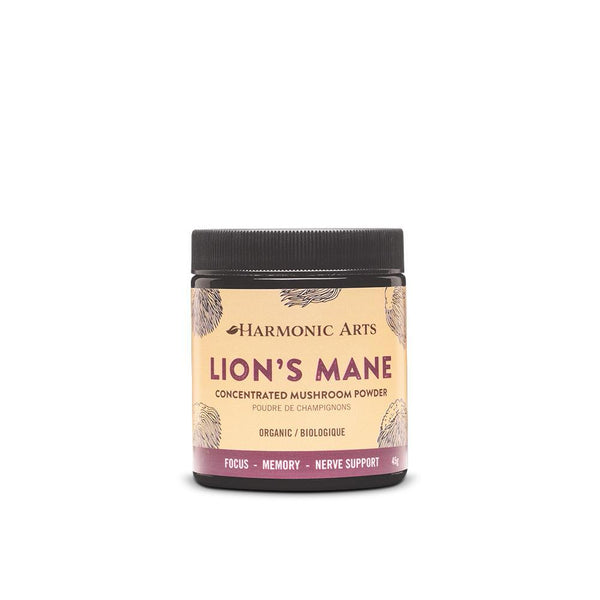 Harmonic Arts Organic Lion's Mane Concentrated Mushroom Powder