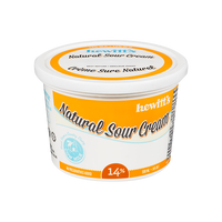 Hewitt's Natural Sour Cream 14% 500 ml