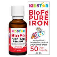 Kidstar BioFe Pure Iron Drops - Unflavoured 30 ml