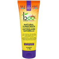 Boo Bamboo Natural Sunscreen SPF 40 Kids