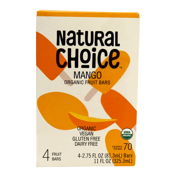 Natural Choice Organic Fruit Bar Mango