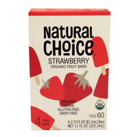 Natural Choice Organic Fruit Bar Strawberry
