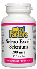 Natural Factors Seleno Excell 200 mcg Selenium 90 capsules