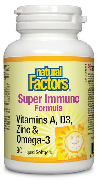 Natural Factors Super Immune Formula 90 soft gels
