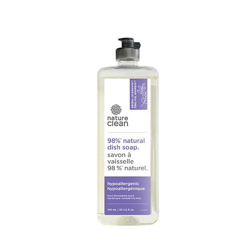 Nature Clean Dishwashing Liquid Lavender & Tea Tree 740 ml