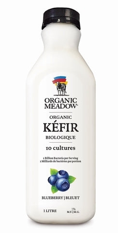 Organic Meadow Kefir Beverage Blueberry