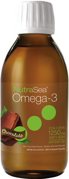 NutraSea Omega-3 - Chocolate 200 ml