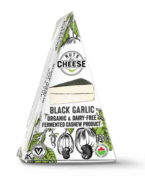 Nuts For Cheese Black Garlic Cashew Cheese