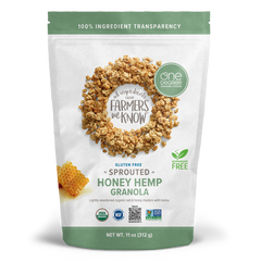 One Degree Sprouted Honey Hemp Oat Granola