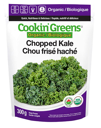 Cookin' Greens Chopped Kale