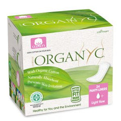 Organyc Light Flow Panty Liner (Folded) 24 Pack