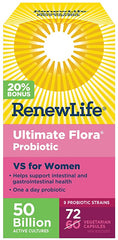 RenewLife Ultimate Flora 50 Billion Vaginal Support 72 capsules