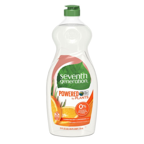 Seventh Generation Dish Liquid - Clementine Zest & Lemongrass 739 ml