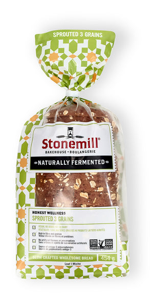 Stonemill Sprouted 3 Grain Bread
