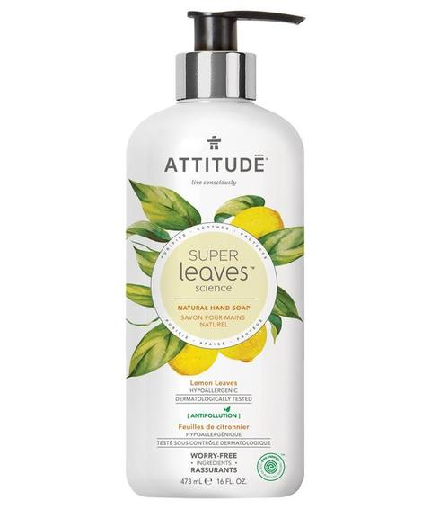 Attitude Super Leaves Liquid Hand Soap Lemon