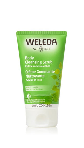 Weleda Body Cleansing Scrub - Birch 190 ml