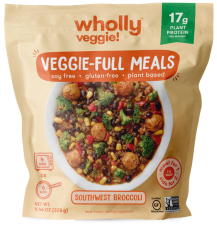Wholly Veggie Southwest Broccoli Meal