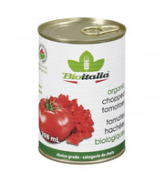 Bio Italia Organic Chopped Tomatoes 398 ml