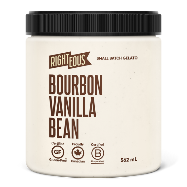 Righteous Gelato Bourbon Vanilla Bean