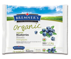 Bremner's Organic Frozen Blueberries