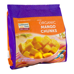Earthbound Organic Frozen Mango Chunks