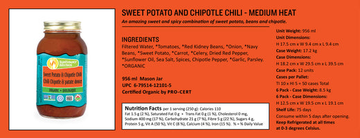Sunflower Kitchen Organic Chili Sweet Potato & Chipotle Soup