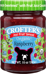 Crofter's Organic Just Fruit Spread Raspberry 235 ml