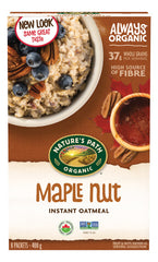 Nature's Path Oatmeal Maple Nut 8 Pack