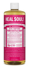 Dr. Bronner's Rose Castille Liquid Soap 946 ml