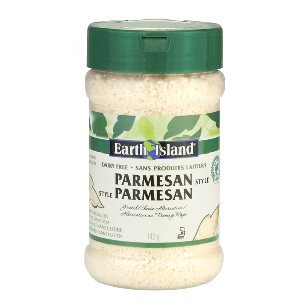 Earth Island Parmesan-Style Grated Cheese 142 g