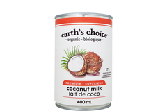 Earth's Choice Organic Coconut Milk 400 ml