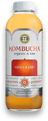 GT's Raw Kombucha Gingerade