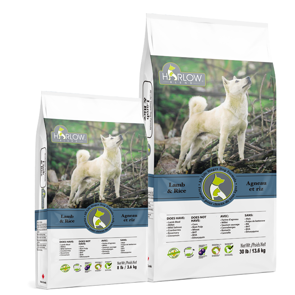 Harlow Blend All Life Stages Dog Formula Lamb & Rice 3.63 kg