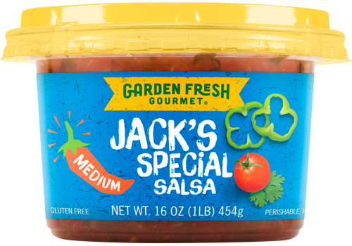 Garden Fresh Jack's Special Salsa Medium