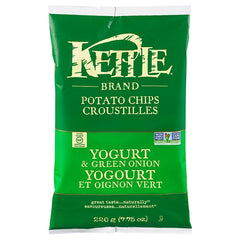Kettle Yogurt & Green Onion Potato Chips 220 g