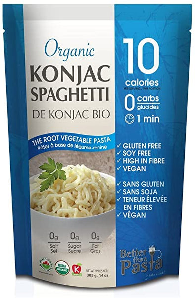 Better Than Rice Konjac Spaghetti