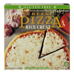 Amy's Frozen Cheese Pizza Rice Crust