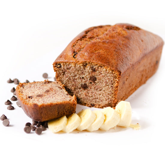 Sweets From The Earth Banana Chocolate Chip Loaf