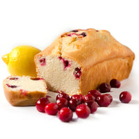 Sweets From The Earth Lemon Cranberry Loaf