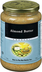 Nuts to You Crunchy Almond Butter 735 g