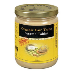 Nuts to You Organic Fair Trade Smooth Sesame Tahini Butter 500 g