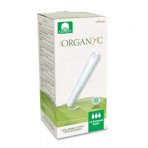 Organyc Super Tampons with Applicator 14 Pack