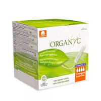 Organyc Super Plus Compact Tampons 16 Pack